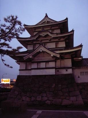 高松城跡のやぐら