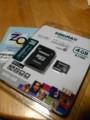kingmax microSD 4GB