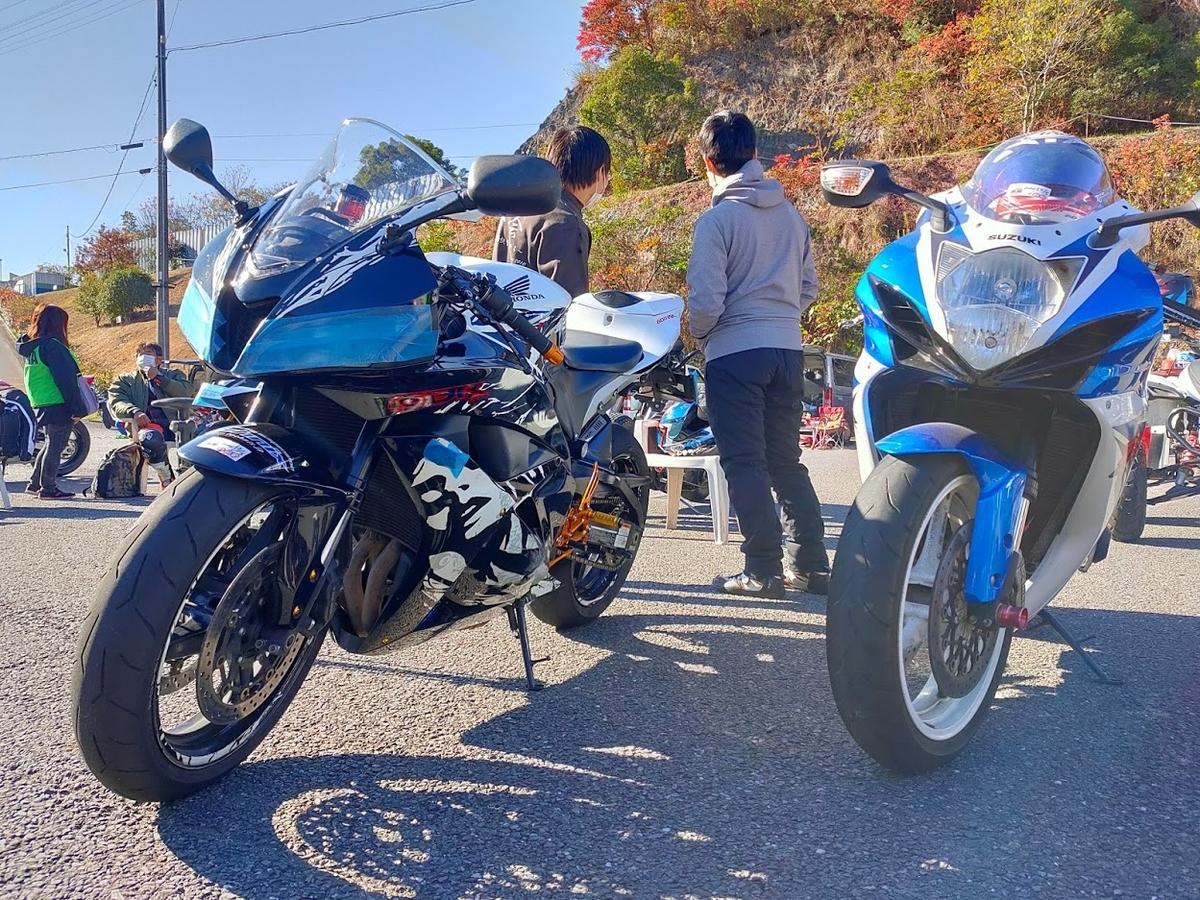 HONDA CBR600RR / SUZUKI GSX-R600