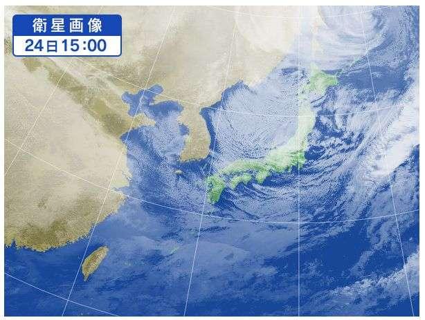 日本海に急に出現する小さな低気...