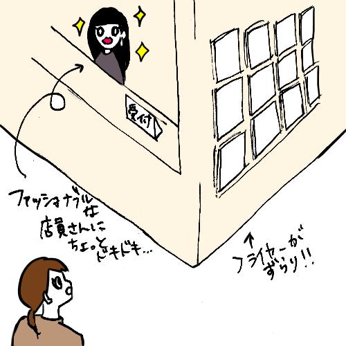アップリンク渋谷フロントイラスト
