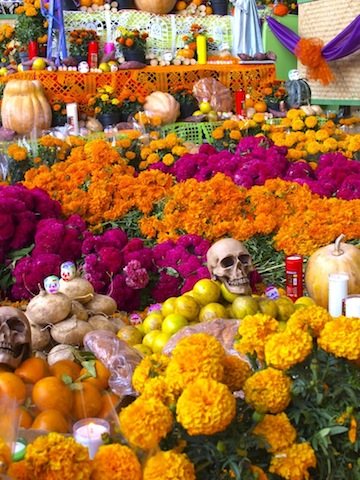 メキシコ死者の祭り