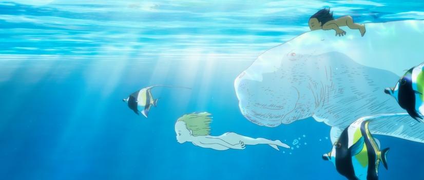 ジュゴンと泳ぐ幼い空と海