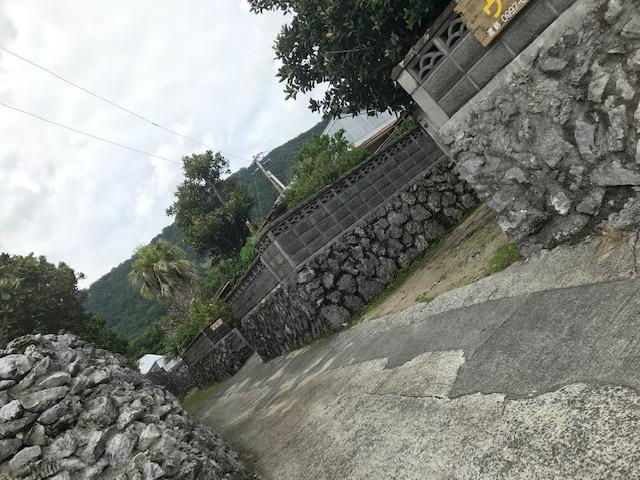 珊瑚の石垣集落
