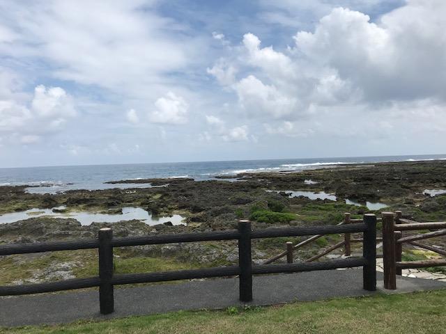 珊瑚の海岸