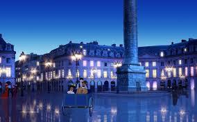 夜の美しいパリ
