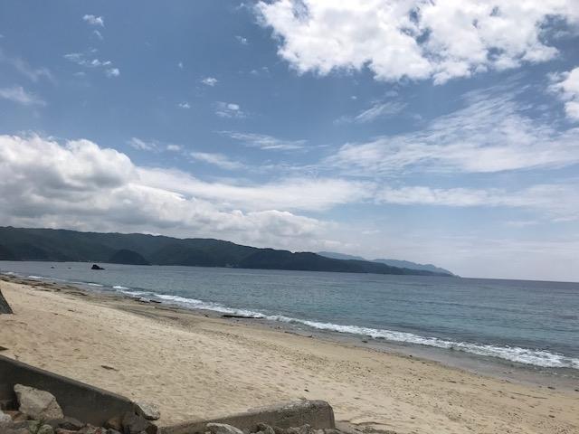 大浜海浜公園のビーチ