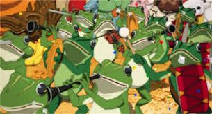 パプリカのパレードシーン・カエルの行進