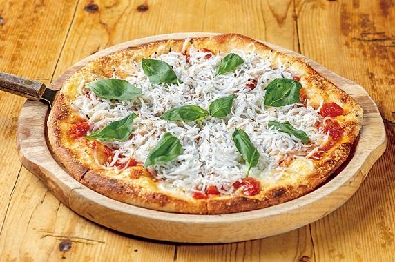 しらすピザ