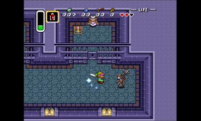 神々のトライフォースのゲーム画像・牢の前