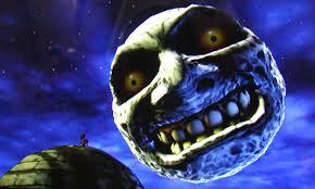 ムジュラの仮面のゲーム画像・月の顔