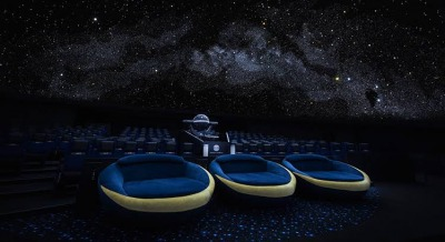 プラネタリウム天空の座席