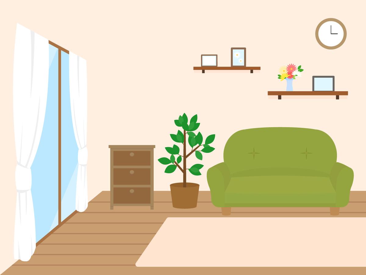 部屋のイラスト1