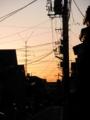 2011/10/04/朝焼け