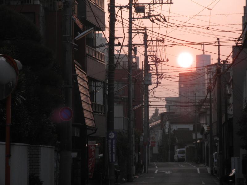 2011/10/14/朝焼け