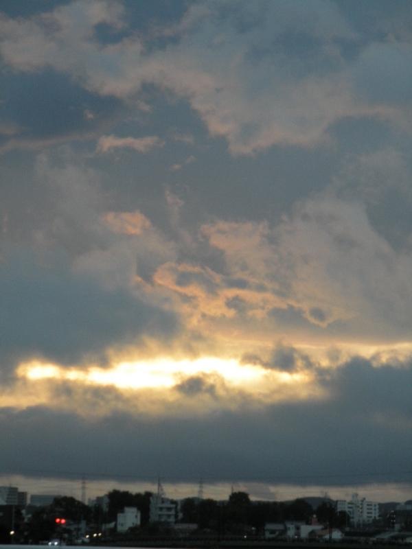 2011/10/16/朝焼け