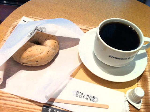 ベーグル&コーヒー