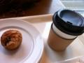 マフィン&コーヒー