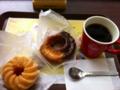 ドーナツ&コーヒー