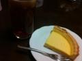 クリームチーズタルト&アイスレモンティー