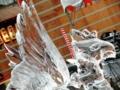 2012/08/03/氷の彫刻「鳳凰」2