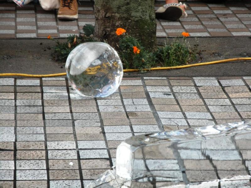 2012/08/03/氷の彫刻「ドラゴン」1