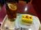 アイスレモンティー&マンゴーとパッションフルーツのケーキ