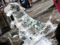2012/08/03/氷の彫刻「ティラノザウルス」2