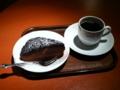 ショコラムース&ブレンドコーヒー