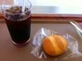 アイスコーヒー&メロンブレッド