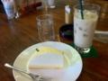 チーズケーキ&ロイヤルミルクティー