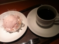 苺のモンブラン&ブレンドコーヒー