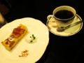 コーヒー&タルト