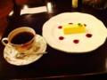 コーヒー&チーズケーキ