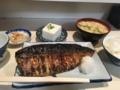 2016/09/17/鯖の一枚焼き定食