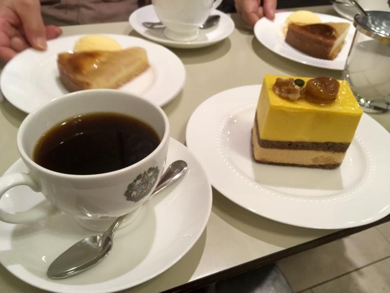 コーヒー&ケーキ