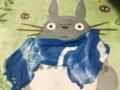 藍染めストール