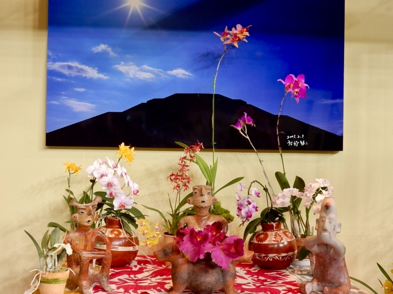 大使・大使夫人のテーブル・ディスプレイ・メキシコ合衆国
