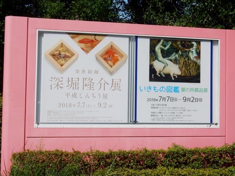 金魚絵師 深堀隆介展 平成しんちう屋1