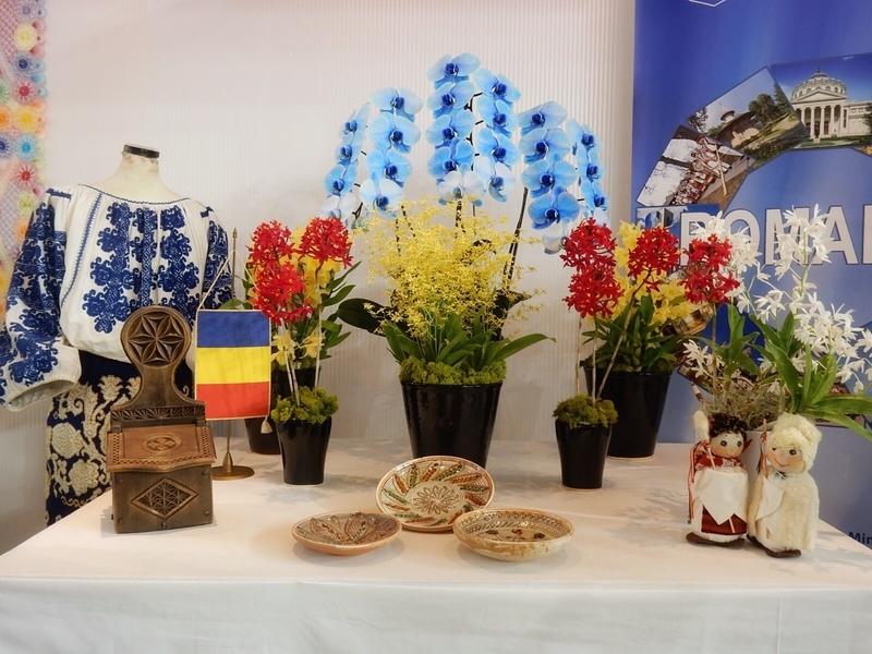 大使・大使館夫人のテーブル・ディスプレイ・ルーマニア