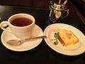 オレンジケーキ&紅茶