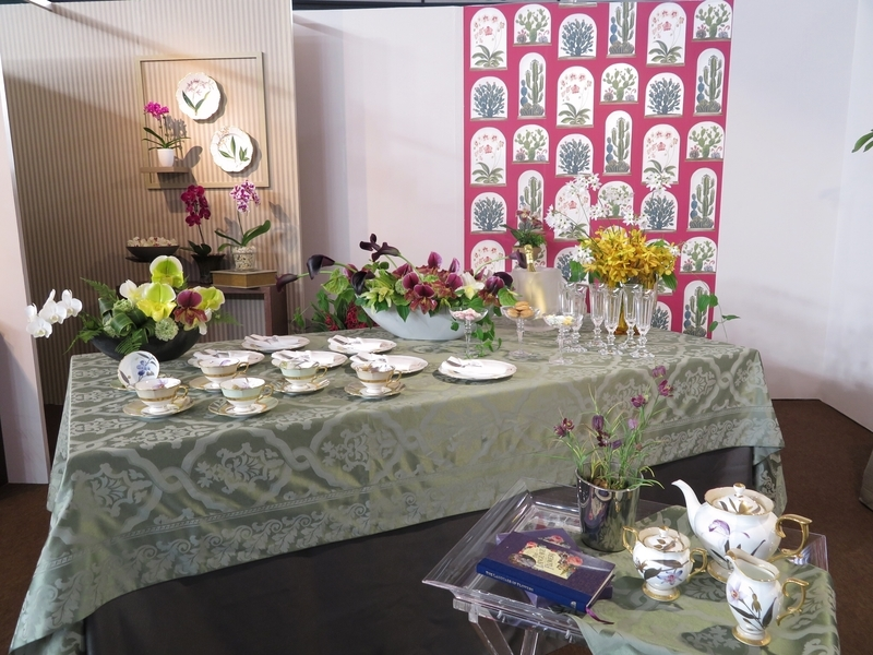 La CHICK「Afternoon Tea in 花ギャラリー」1