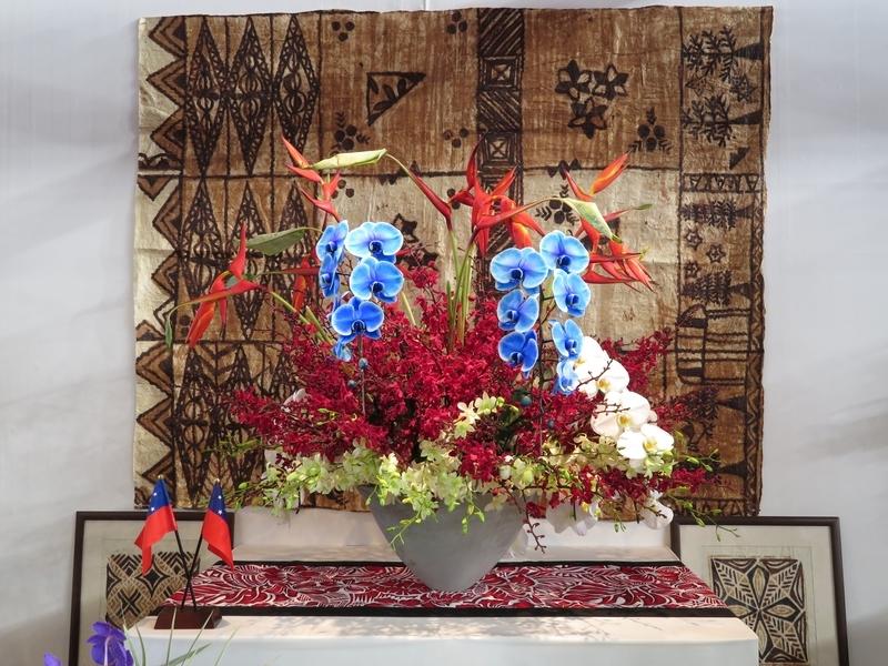女性駐日大使のテーブル・ディスプレイ「サモア独立国」