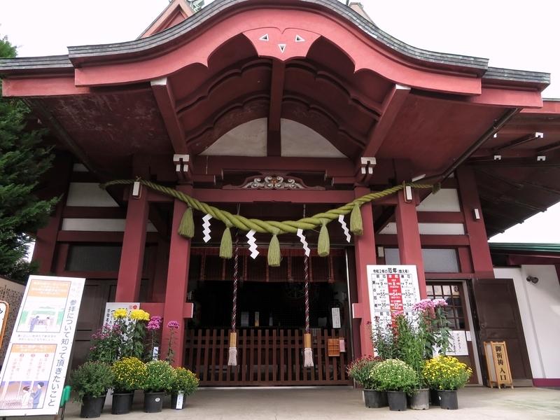 2020/11/02/八幡八雲神社拝殿