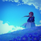 ネモフィラ畑。青いです。