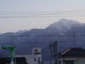 小淵沢駅からの甲斐駒ケ岳