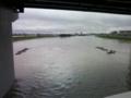 台風15号(2011)豪雨で増水した矢田川01