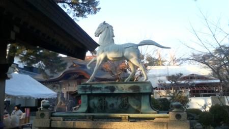 龍城神社神馬