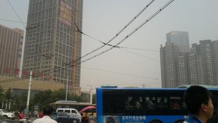 济南郑州电车架线