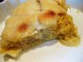 ギリシャ風ザワークラウトとチーズのパイ